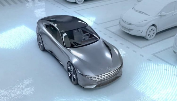 Hyundai and Kia unveil driverless car-charging and parking concept
