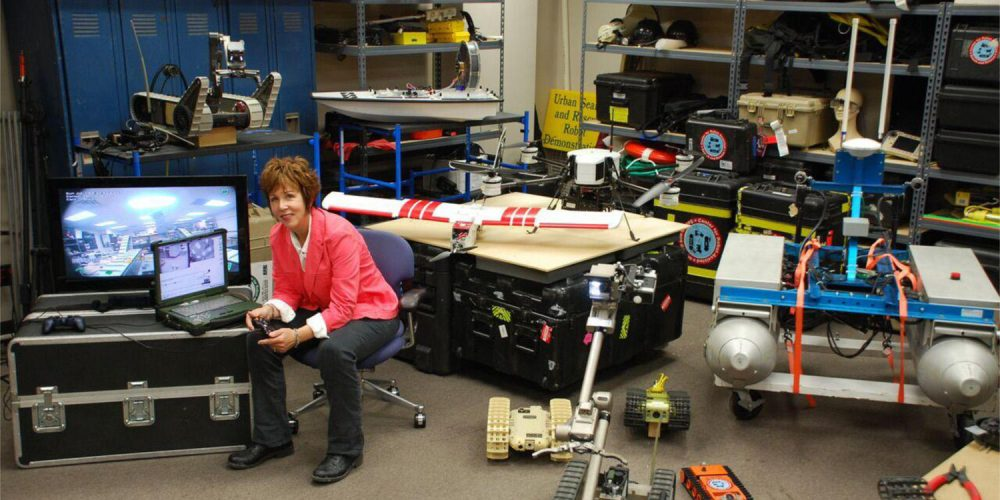 The Essential Interview: Rescue Robots Developer Robin Murphy