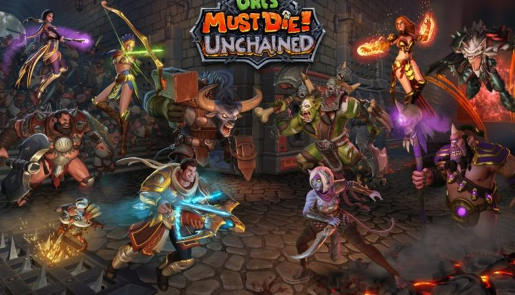 Unchained and Hero Academy video games