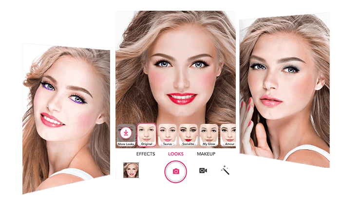 YouCam Makeup-Magic Selfie Cam is a One-Stop AR Makeup and Hair App