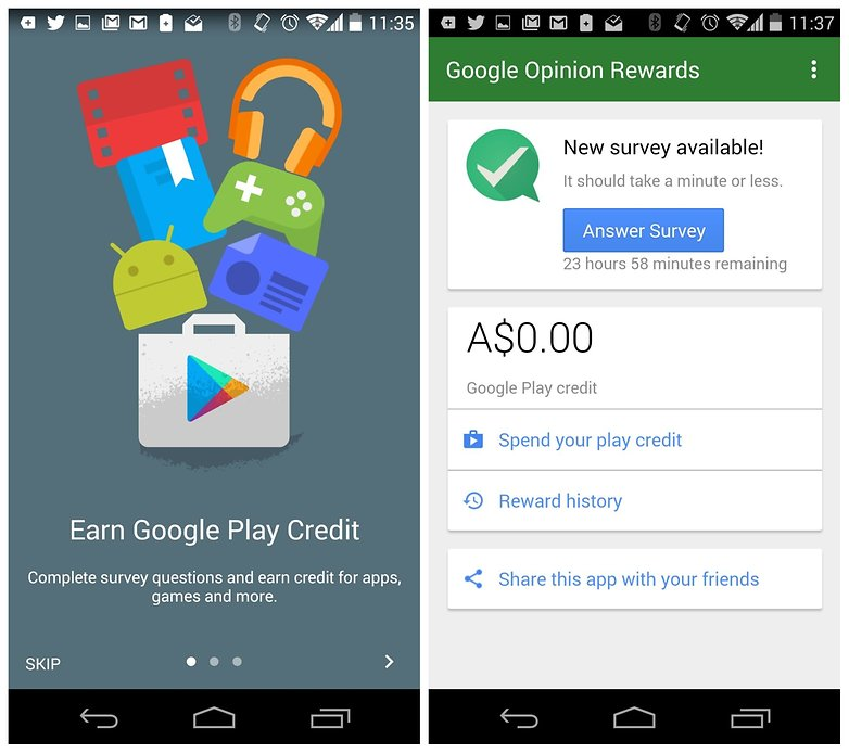 Tech News Paid Apps For Free Google Opinion Rewards
