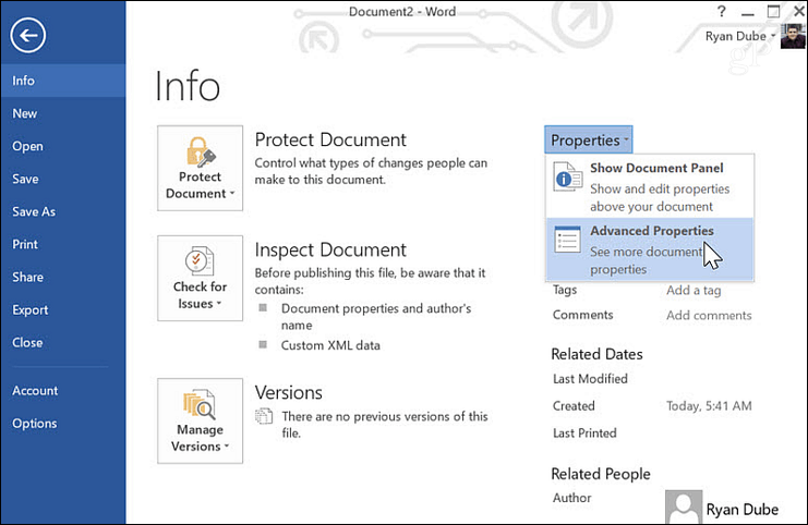 How to Automate Microsoft Word Forms with Custom Fields 2