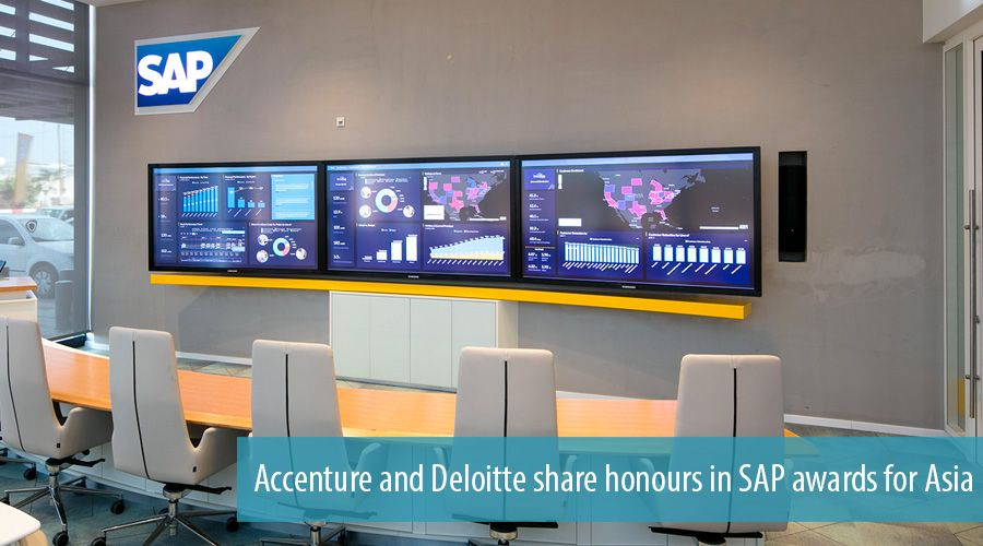 Accenture and Deloitte share honours in SAP awards for Asia