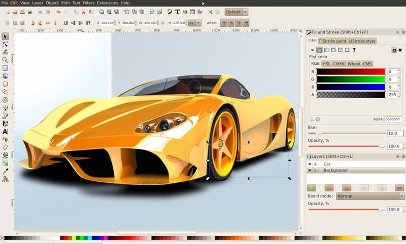 Free Graphic Editors for Creating Vector Picture