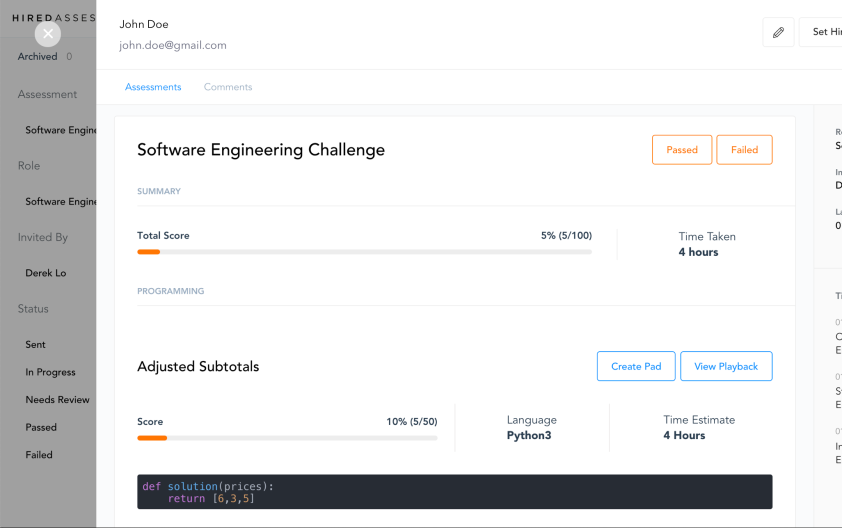Hired acquires YC alum Py to bring candidate assessments 1