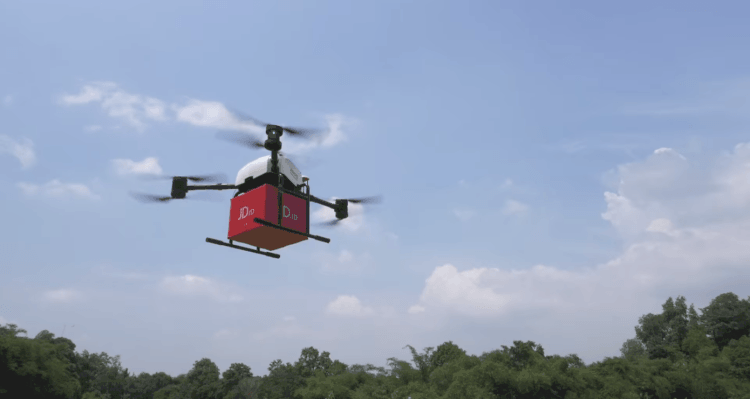 JD.com partners with Rakuten to take drone delivery