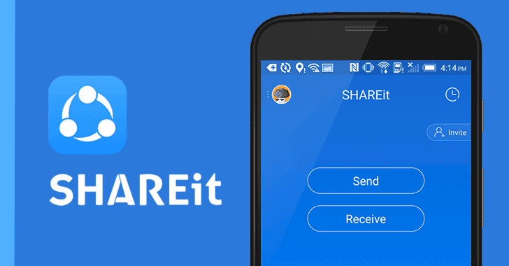 Severe Flaws in SHAREit Android App Let Hackers Steal Your Files