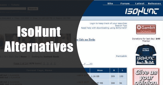 IsoHunt Alternatives: Top 10 Best Torrent Sites To Visit