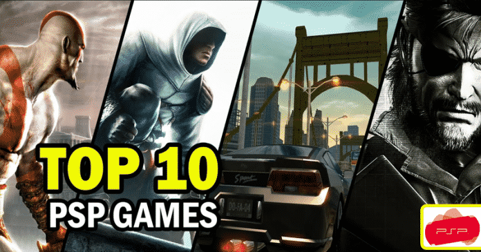 Top 10 Best PSP Video Games Of All Time