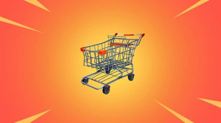 Fortnite Season 8 Vaults Shopping Cart & Other Vehicles