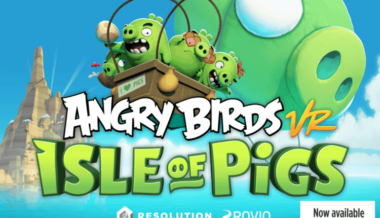 Angry Birds VR Dev Resolution Games Work on Several Oculus Quest Titles