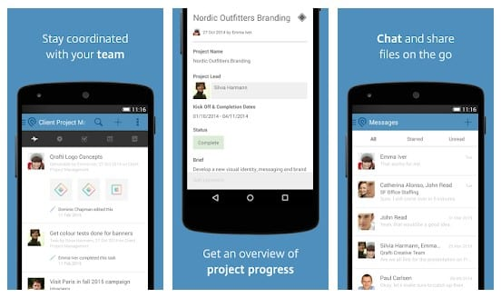 best project management app android