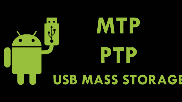 Difference Between MTP, PTP & USB Mass Storage?
