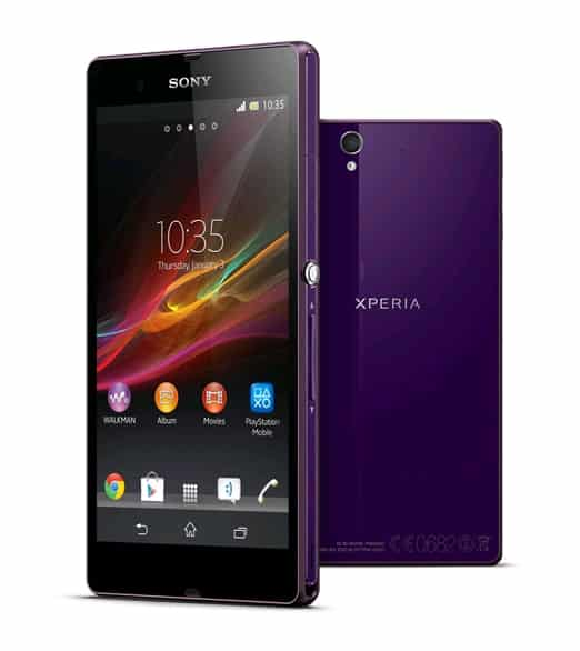 Xperia Z - 10 Best And Biggest Smartphone Leaks Before Their Launch