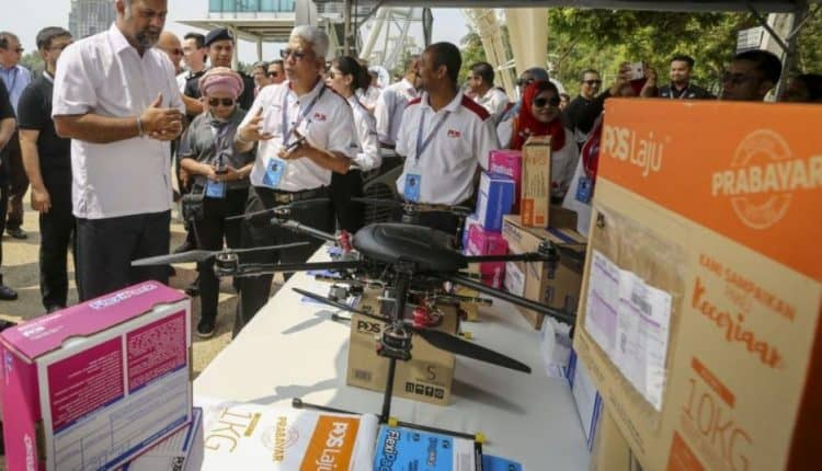 Use of drones in postal industry within five years