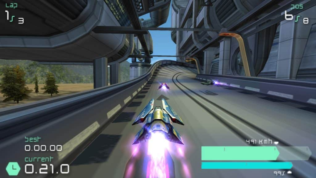 Wipeout Pulse 1024x576 - 10 Best PSP Video Games Of All Time (2019 List)