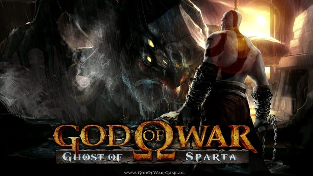 God of War 1024x576 - 10 Best PSP Video Games Of All Time (2019 List)