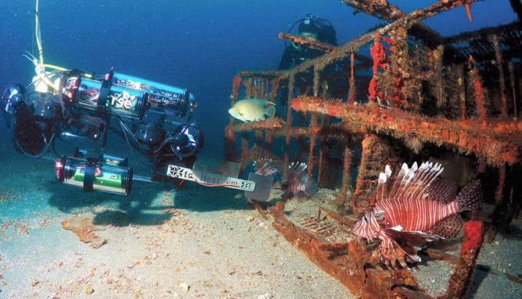 This fish-zapping robot is hunting invasive lionfish in coral reefs