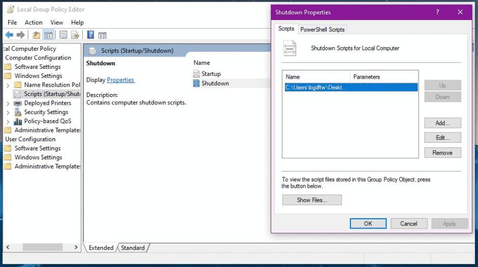 Step 2 PC - How To Empty Recycle Bin When Shutting Down Your Windows PC