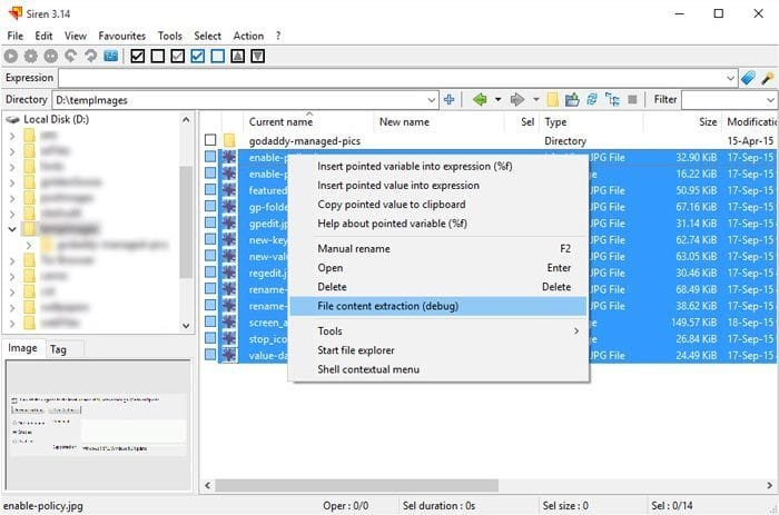 how to rename multiple files at once with different names