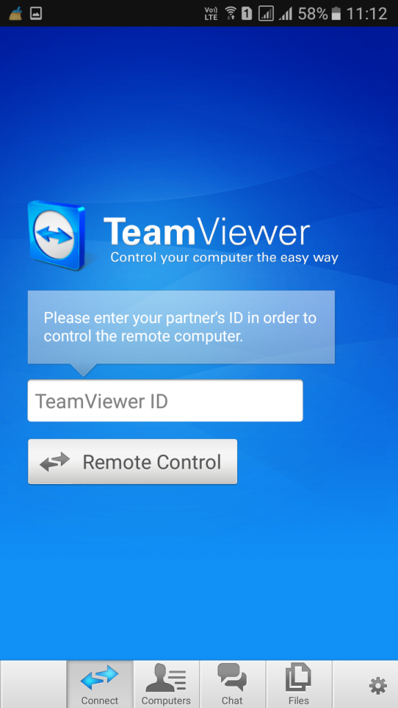 Using TeamViewer: Remote Control