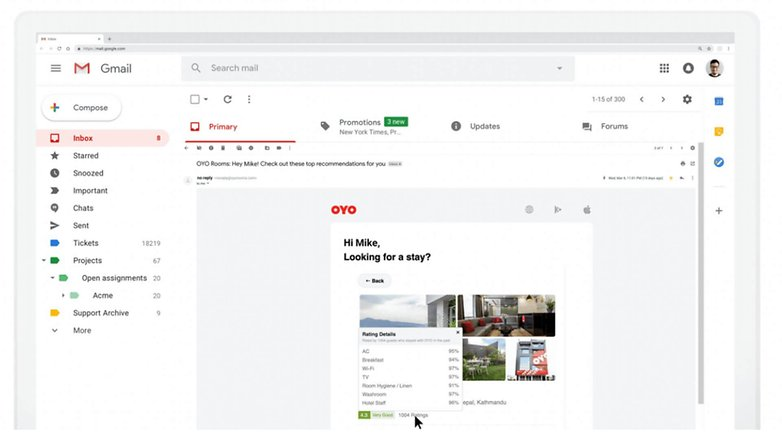 amp for email dynamic email oyo