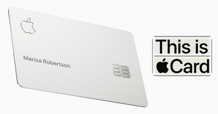 Apple Just Unveiled Its New Extraordinary Apple Card