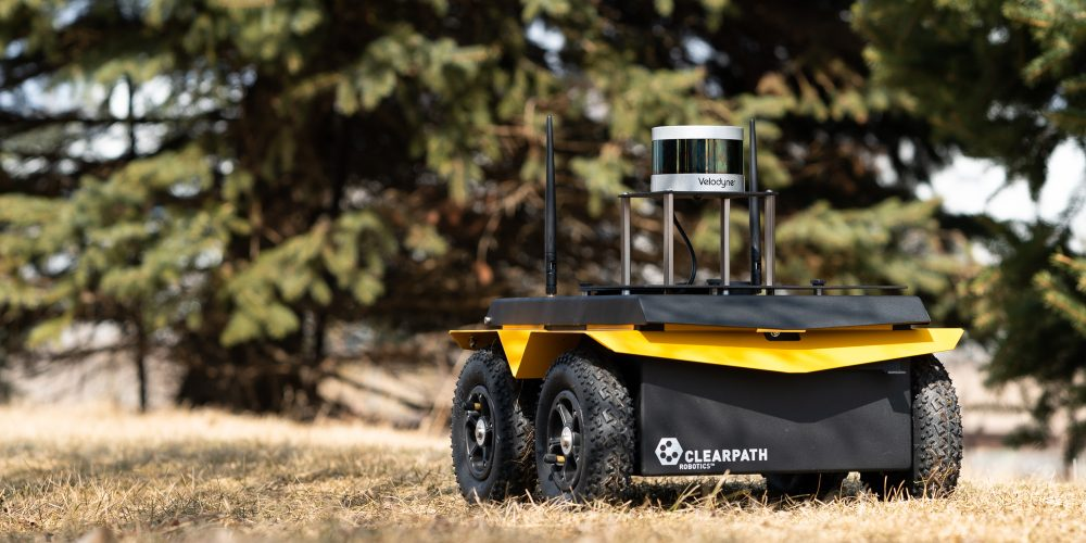 Clearpath Teams With Velodyne to Add Lidar to its Robot Platform