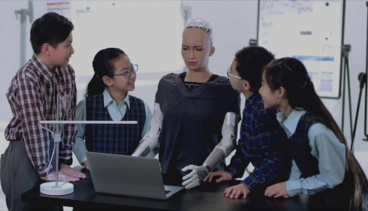 Robotics Creating the Future of Education with AI