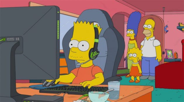 The Simpsons Parodies League of Legends, DOTA 2 in New Episode