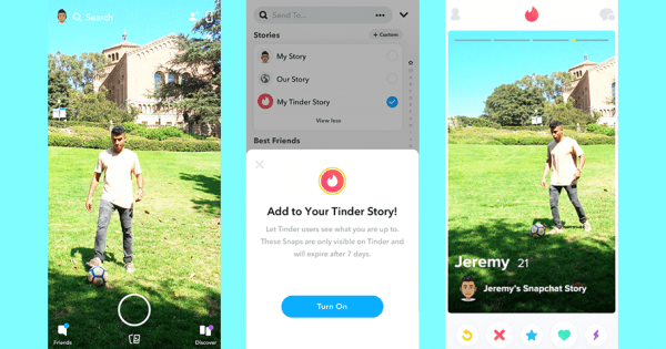 Snapchat Is Making It Easier for Stories to Appear on Other Apps