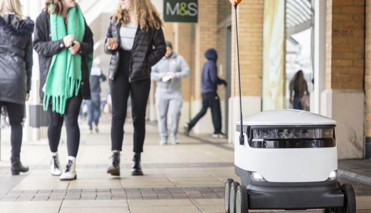 Robot deliveries will change the way consumers shop