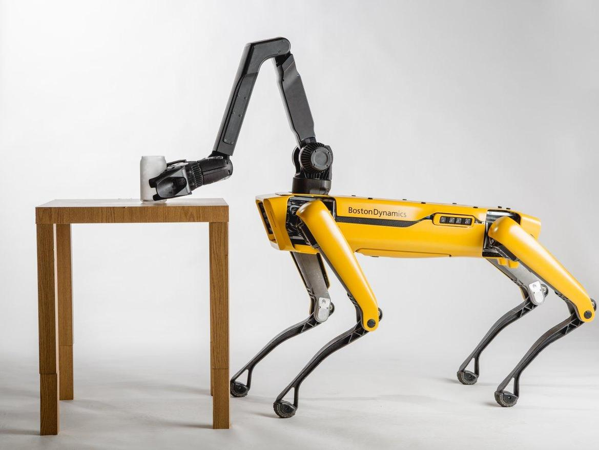 Boston Dynamics is well known for its humanoid Atlas and large 1