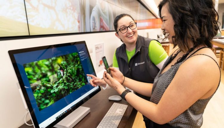 Microsoft Stores partner with iNaturalist to help visitors celebrate Earth Month