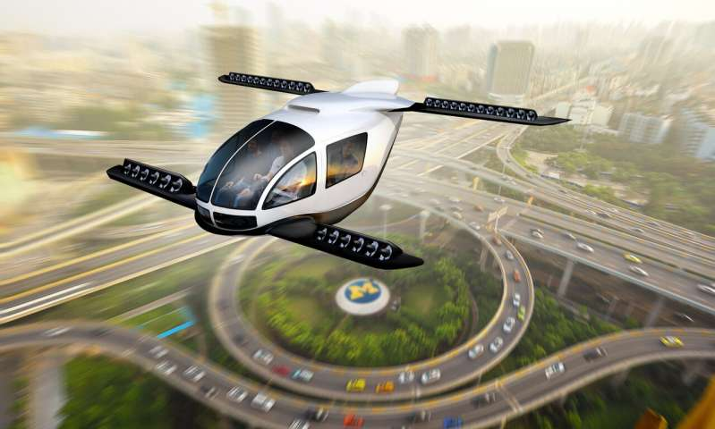 A Jetsons future? Assessing the role of flying cars in sustainable mobility