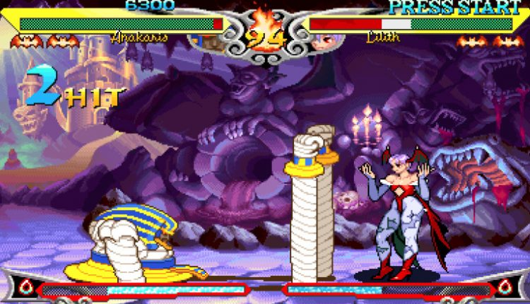 Arcade Setups Keep The Dream Of Competitive Darkstalkers 3 Alive