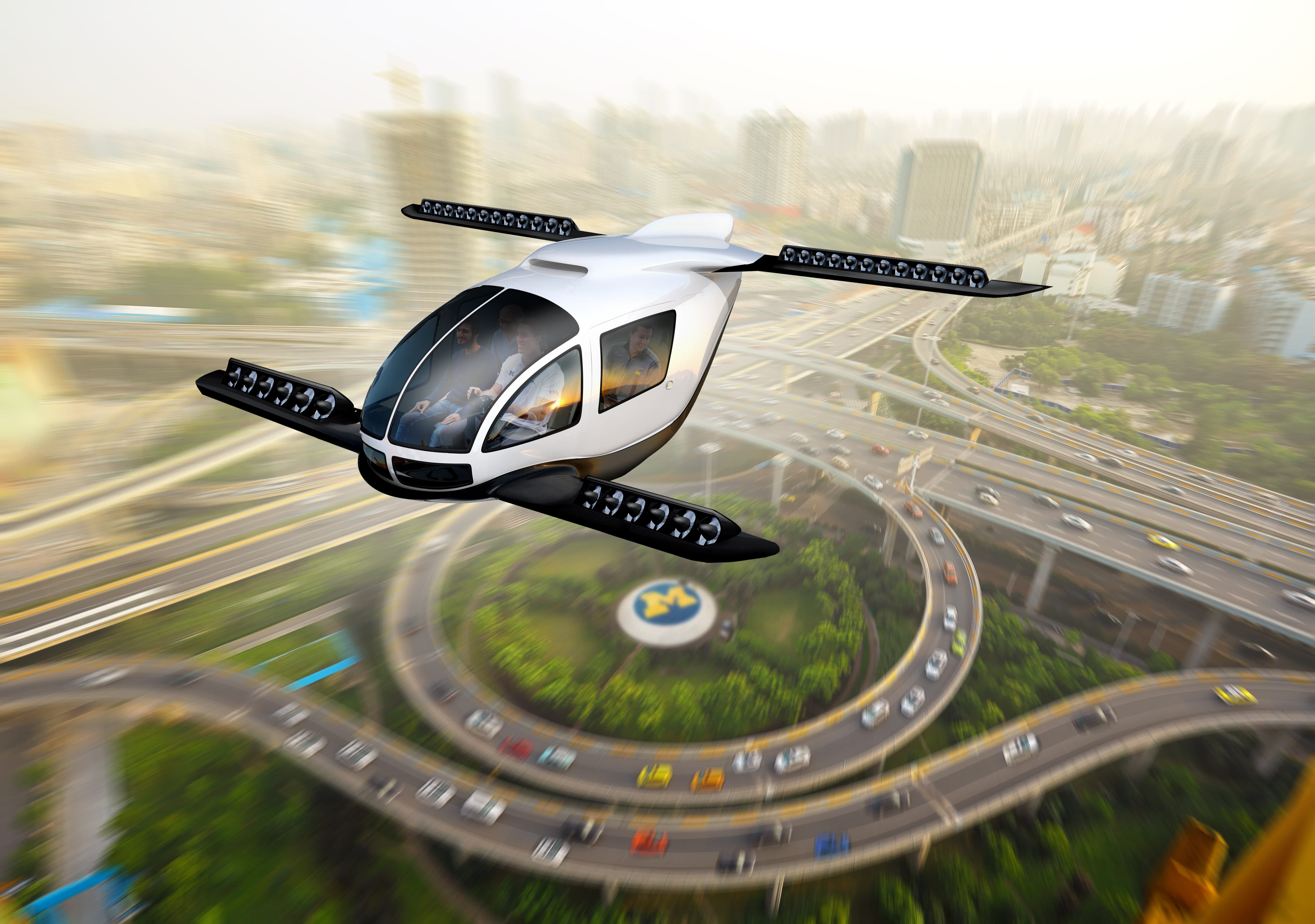 Electric VTOL Flying Cars Have a Role With Clean and Efficient Transportation 1