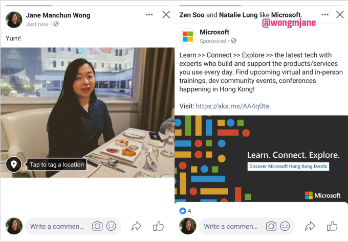 Facebook prototypes a swipeable hybrid carousel of feed posts & Stories 1