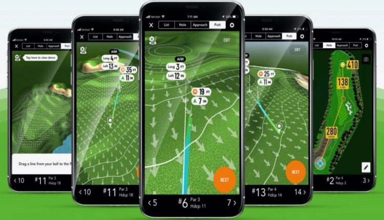 GolfLogix app for iPhone now offers animated putt line feature