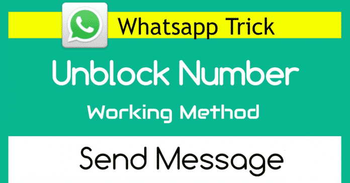 How To Send A Message To The Person Who Blocked You On WhatsApp