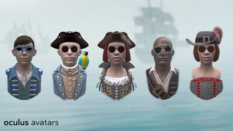 Oculus Pirate Avatars