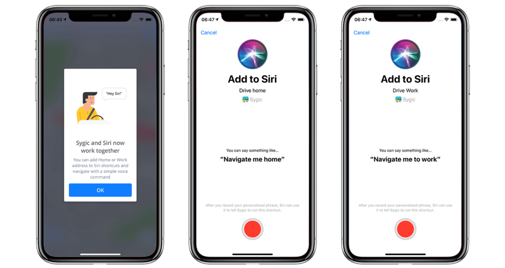Sygic GPS Navigation is Now Available Through Siri Shortcuts 1