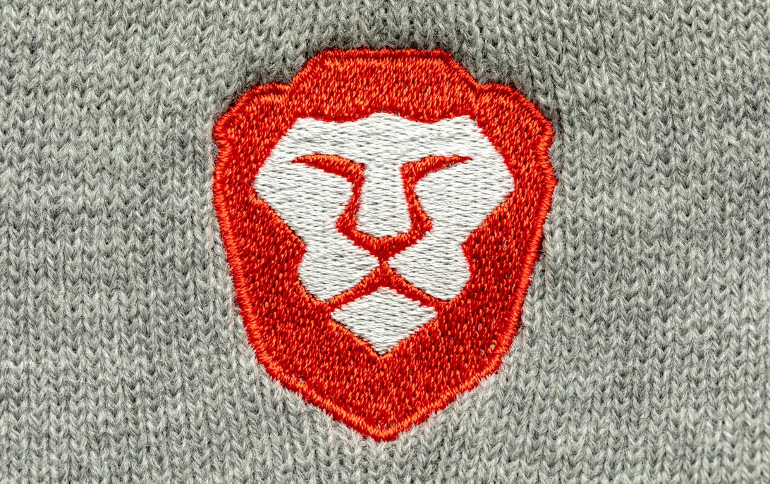 Brave browser's lion logo