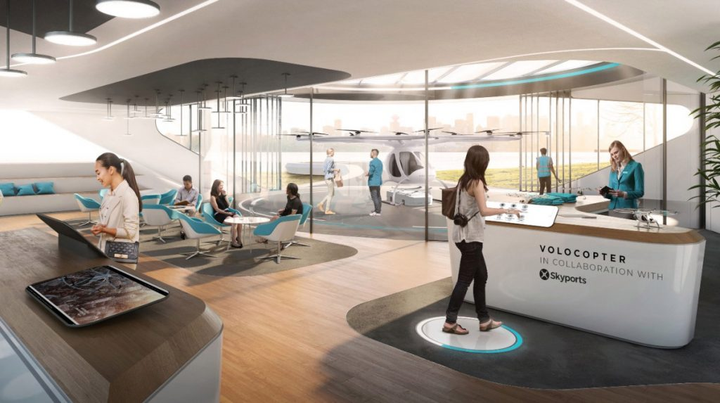 Volocopter to open its first air taxi landing facility in Singapore