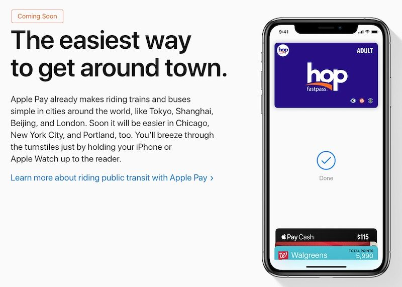 Apple Pay Coming to NYC Transit System in Early Summer 1