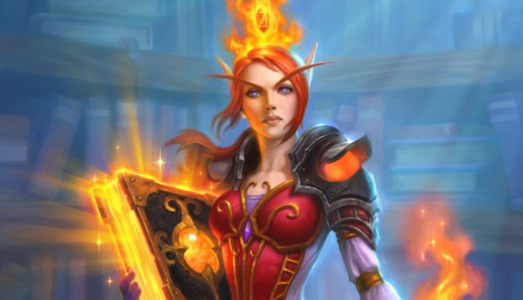 Archivist Elysiana Is A Fun Hearthstone Card When Your Opponent Isn't Using It
