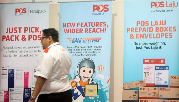 Dwindling mail and impairments drag Pos Malaysia into the red
