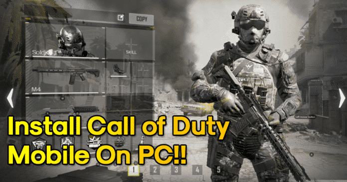 How To Install Call of Duty Mobile On Windows PC