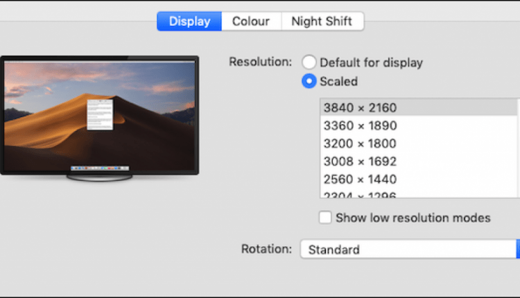 How to Select an Exact Display Resolution on Your Mac