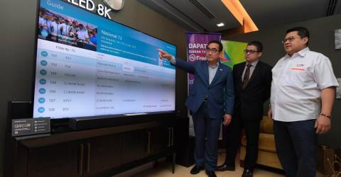 Malaysia to transition into high quality digital TV broadcasts